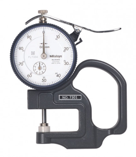 Mitutoyo 7301 Dial Thickness Gauge 0-10 mm