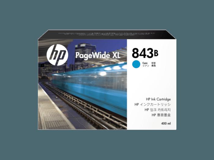 HP 843B DesignJet Ink Cartridge - 400ml Cyan