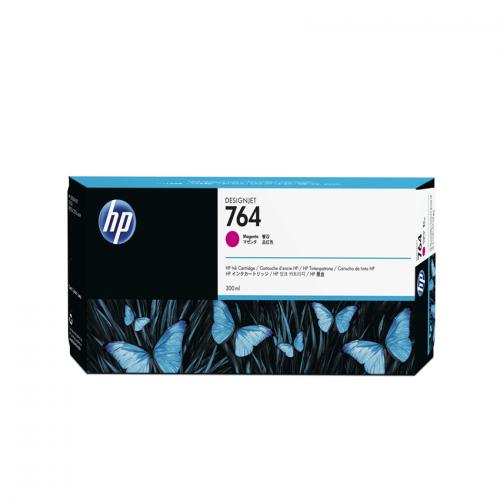HP 764 Designjet Ink Cartridge - 300 ml Magenta