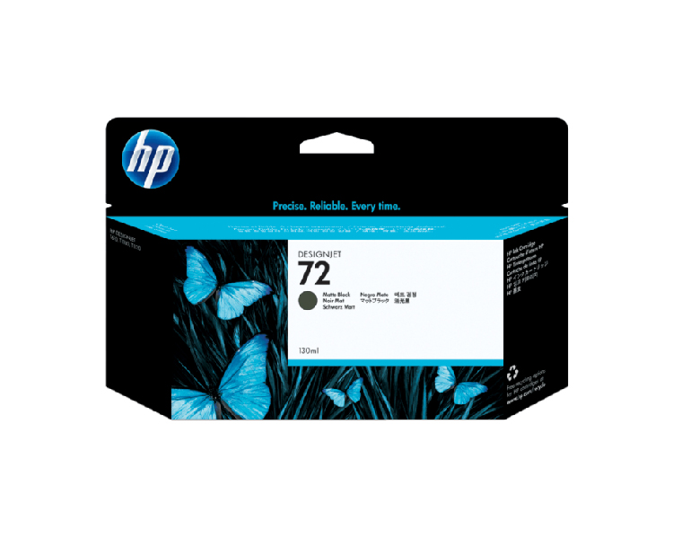 HP 72 Designjet Ink Cartridge - 130 ml Matte Black