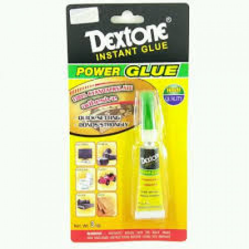 Dextone 2 Pcs - Power Glue 3gr Lem Instan