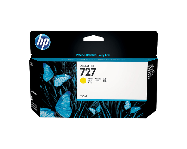 HP 727 Designjet Ink Cartridge - 130 ml Yellow