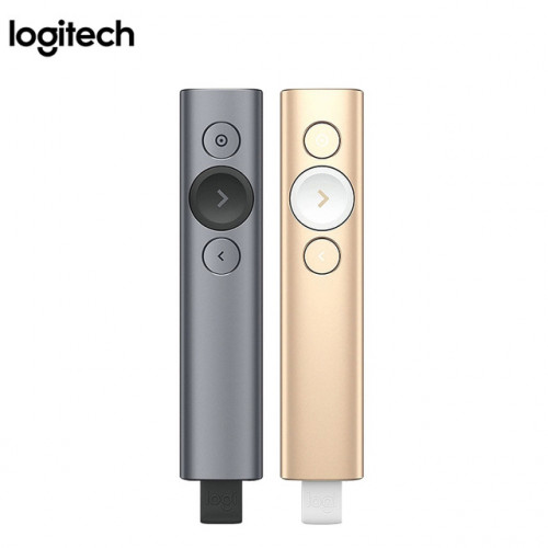 LOGITECH Spotlight Presentation Remote Slate, Gold