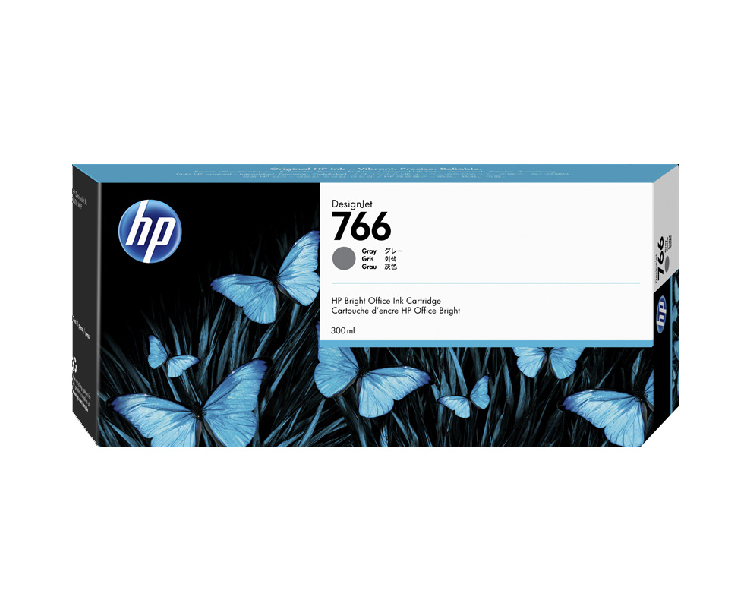 HP 766 300ml Gray