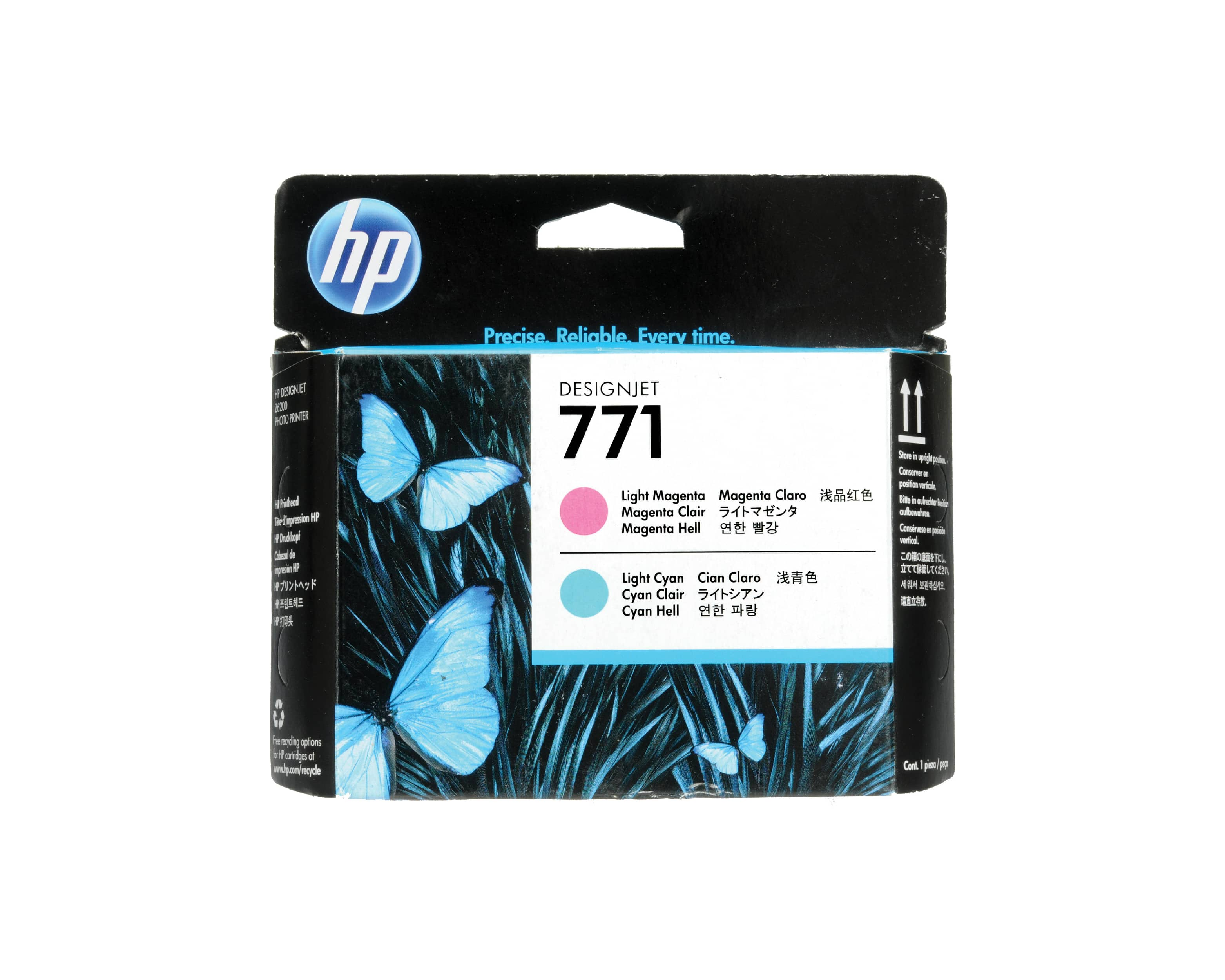 HP 771 DesignJet Printhead - Light Magenta & Light Cyan