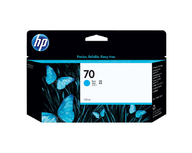 HP 70 Cyan 130 ml Ink Cartridge