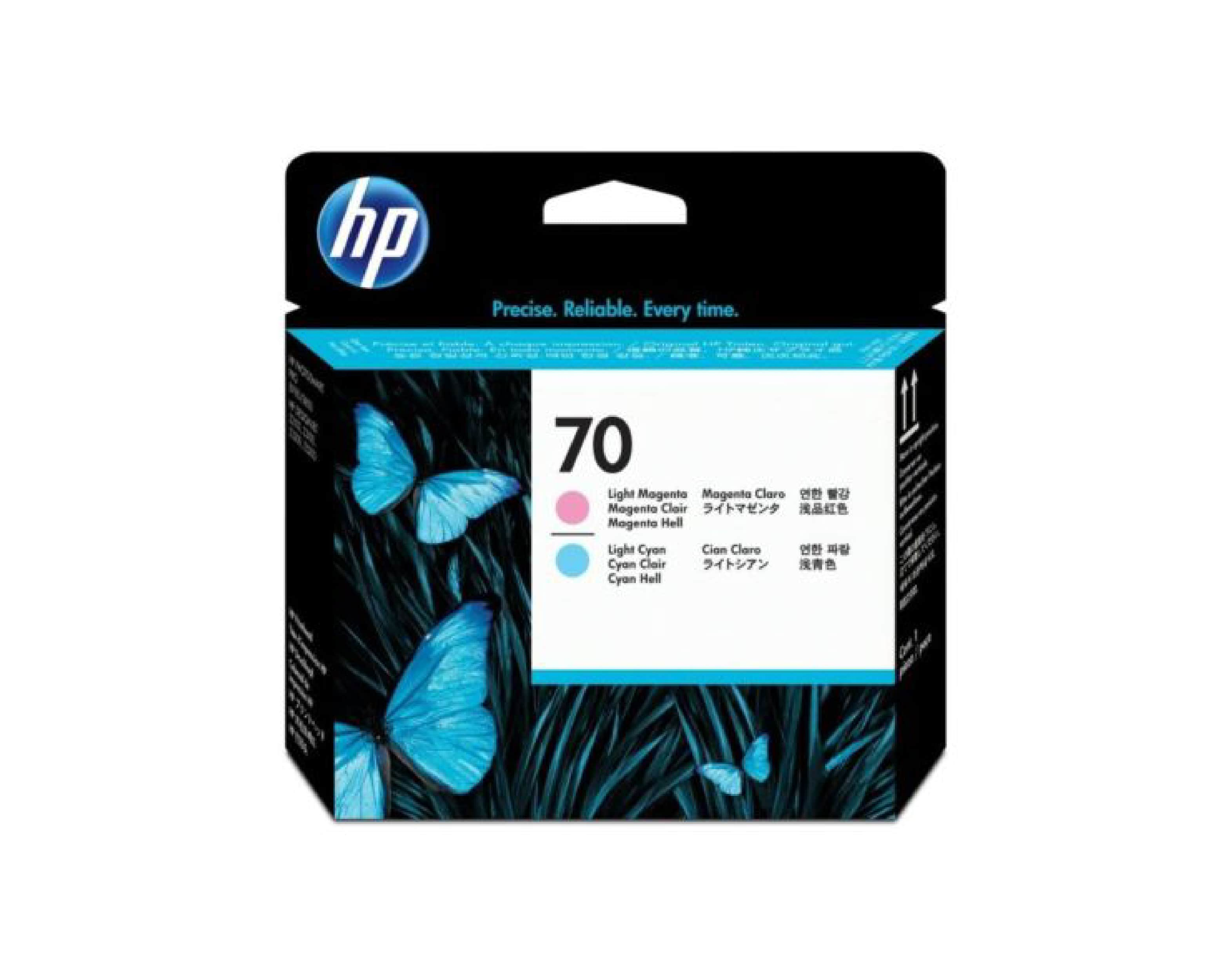 HP 70 DesignJet Printhead - Light Magenta & Light Cyan