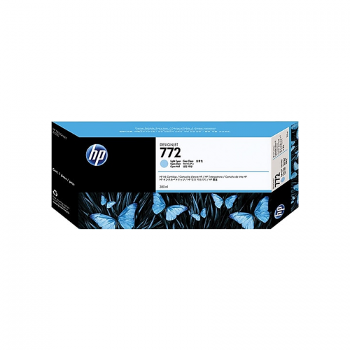 HP 772 Designjet Ink Cartridge - 300 ml Light Cyan