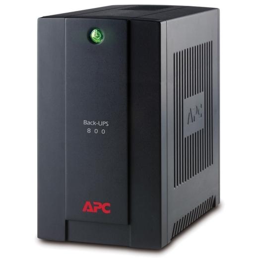 APC Back-UPS 800VA, 230V, AVR, Universal and IEC Sockets