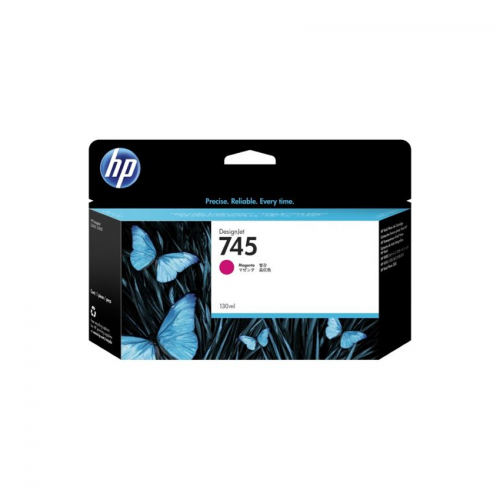 HP 745 Designjet Ink Cartridge - 130 ml Magenta