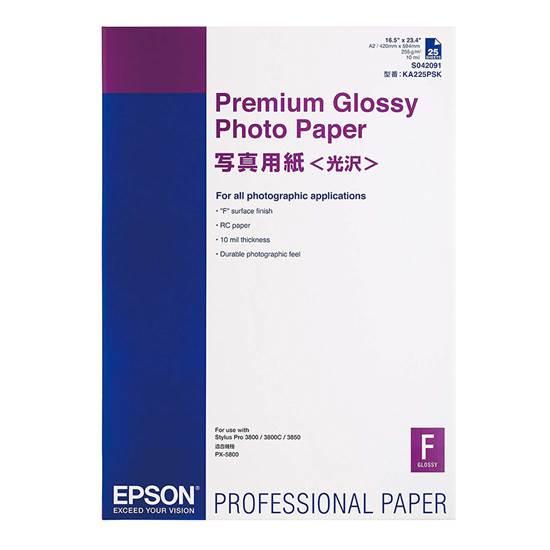 Epson Premium Glossy Photo Paper A2
