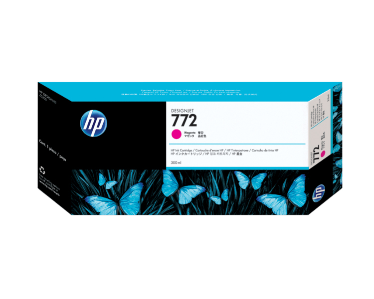 HP 772 Designjet Ink Cartridge - 300 ml Cyan