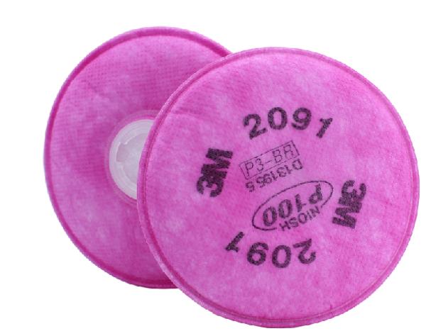 3M 2091 P100 Particulate Filter