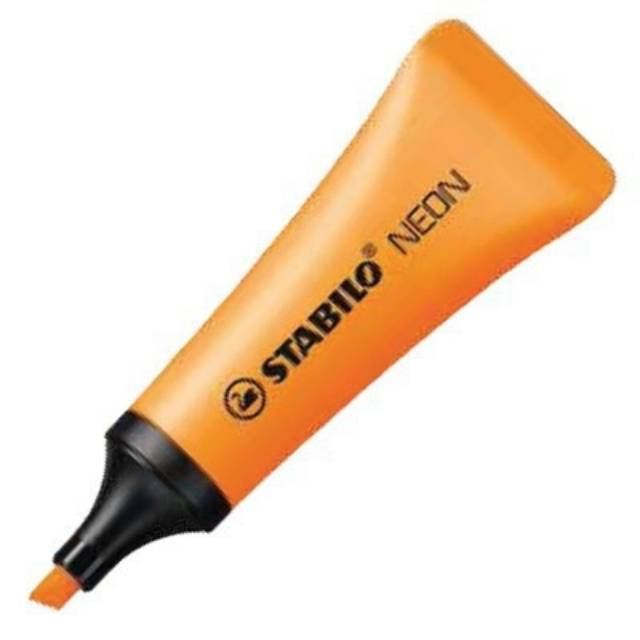 STABILO NEON Orange Highlighter