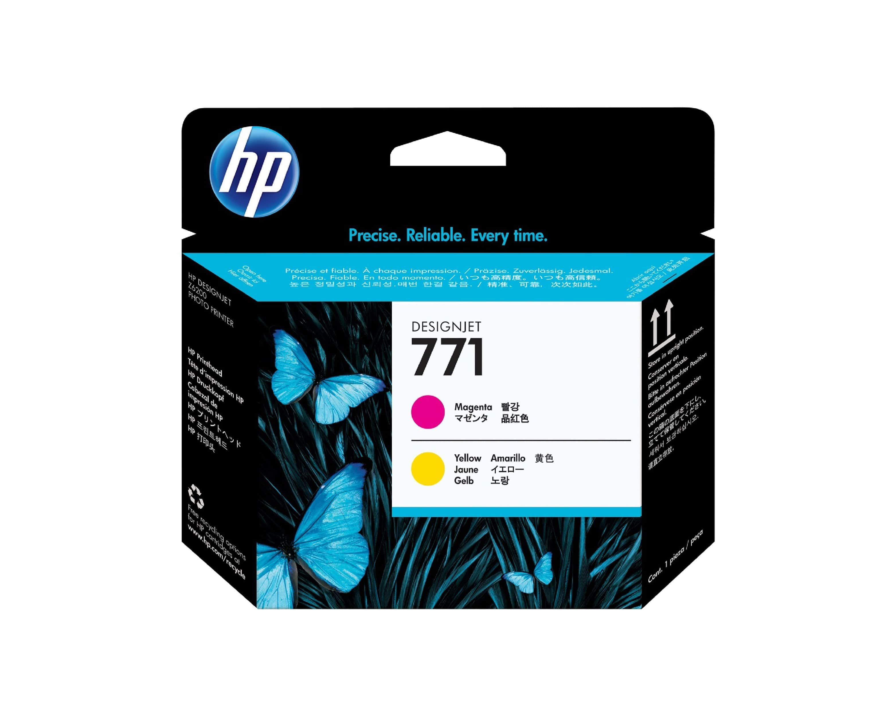 HP 771 DesignJet Printhead - Magenta & Yellow