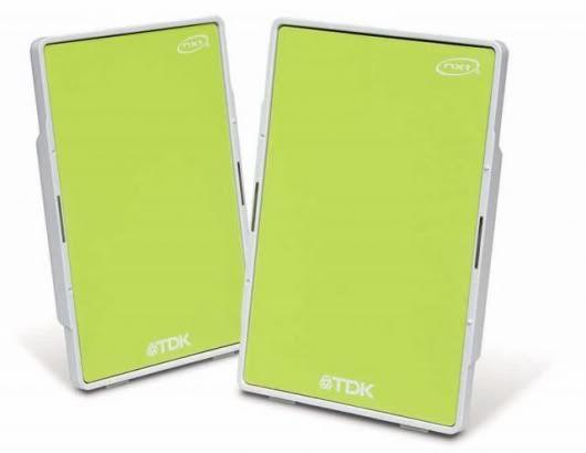 TDK Tremor Speaker Flat Panel Xa-10 Lime