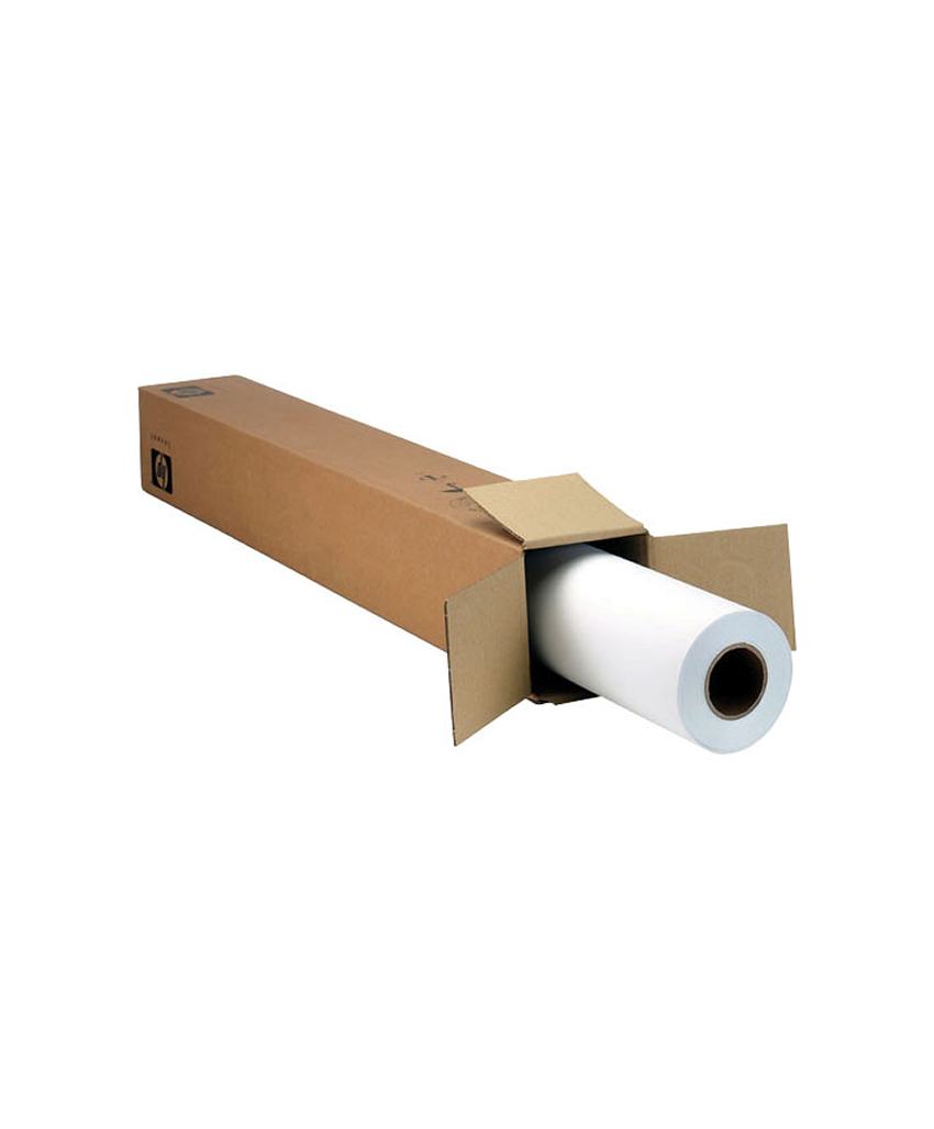 "HVS Bright White Paper 24"" x 50m - 80 gram Paper Map B Cor 2in"