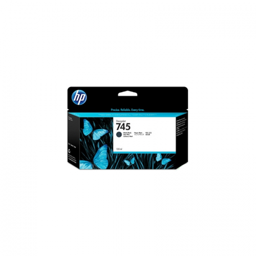 HP 745 Designjet Ink Cartridge - 130 ml Matte Black