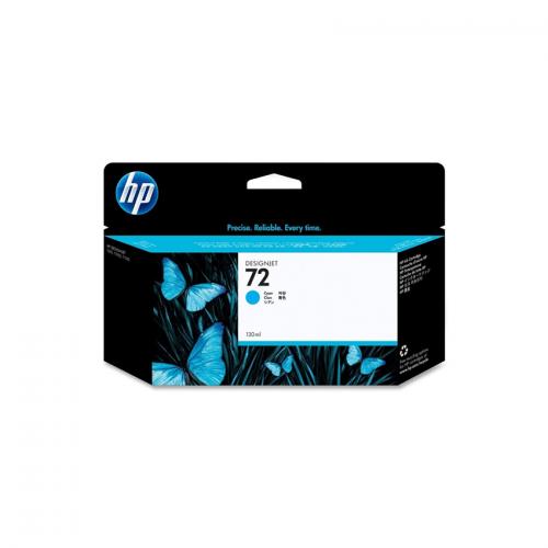 HP 72 Designjet Ink Cartridge - 130 ml Cyan