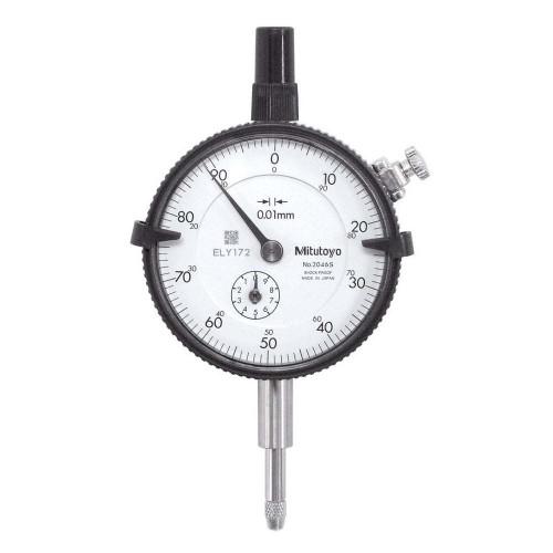 Mitutoyo 2046 Dial Indicator 0 - 10mm