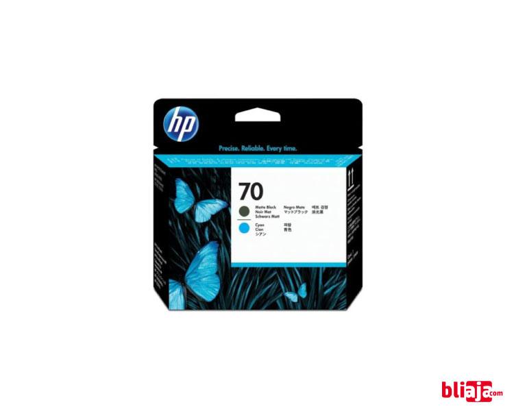 HP 70 DesignJet Printhead - Matte Black & cyan