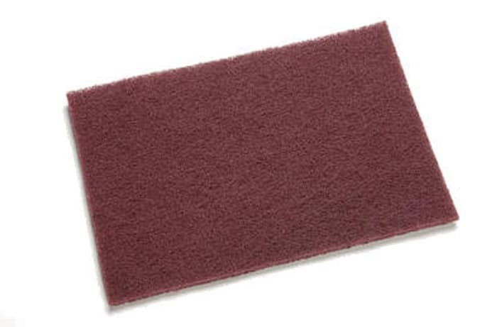 3M Scotch Brite 7447 - Maroon Hand Pad - Per Box