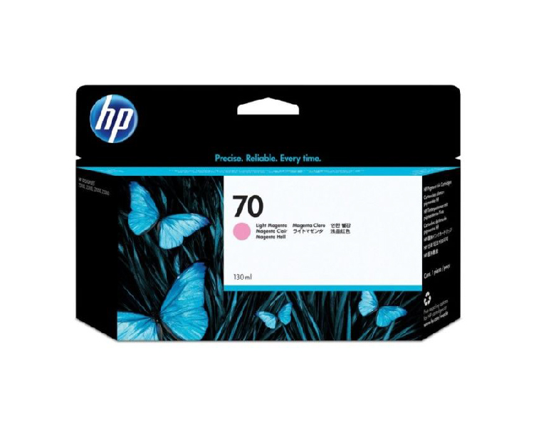 HP 70 Light Magenta 130 ml Ink Cartridge