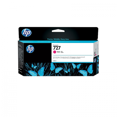 HP 727 Designjet Ink Cartridge - 300 ml Magenta
