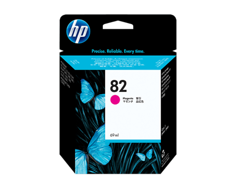 HP 82 DesignJet Ink Cartridge - 69 ml Magenta