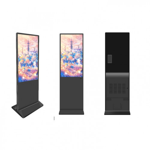 MICROVISION STANDING DIGITAL SIGNAGE DISPLAY MV-U43SK-A