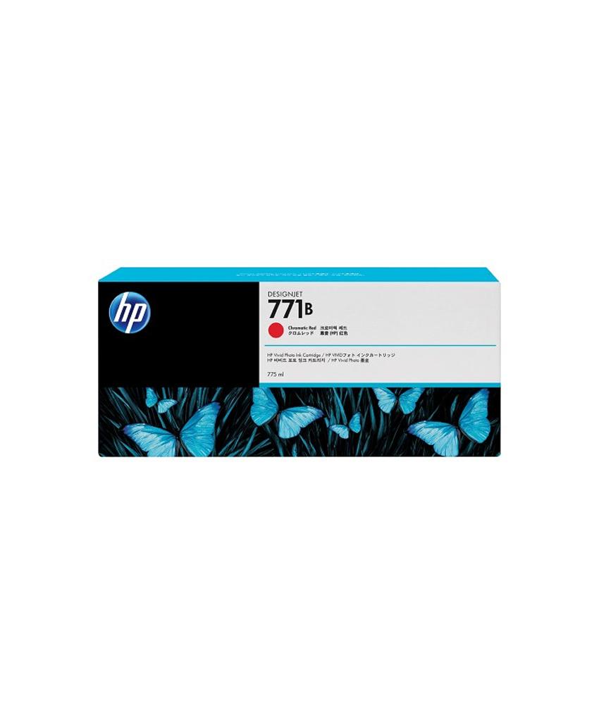 HP 771B Designjet Ink Cartridge - 775 ml Chromatic Red