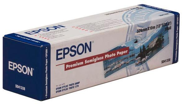 Epson Premium Semi Gloss Photo Paper Roll 329mm