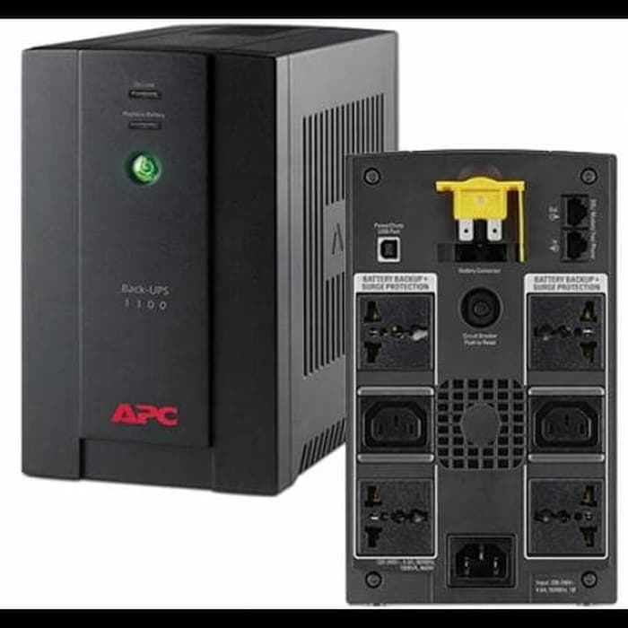 APC Back-UPS 1100VA, 230V, AVR, Universal and IEC Sockets