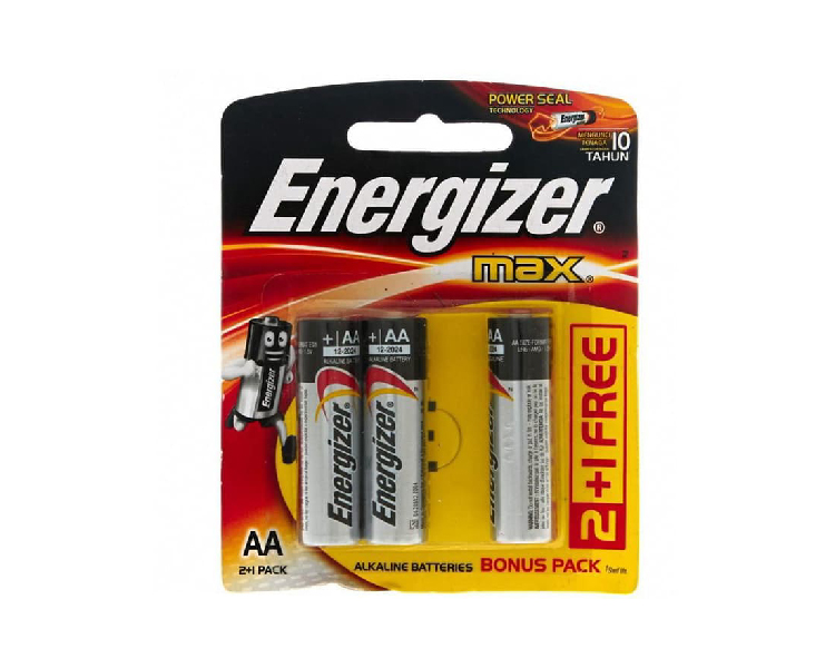 Battery Energizer AA Max Isi 3