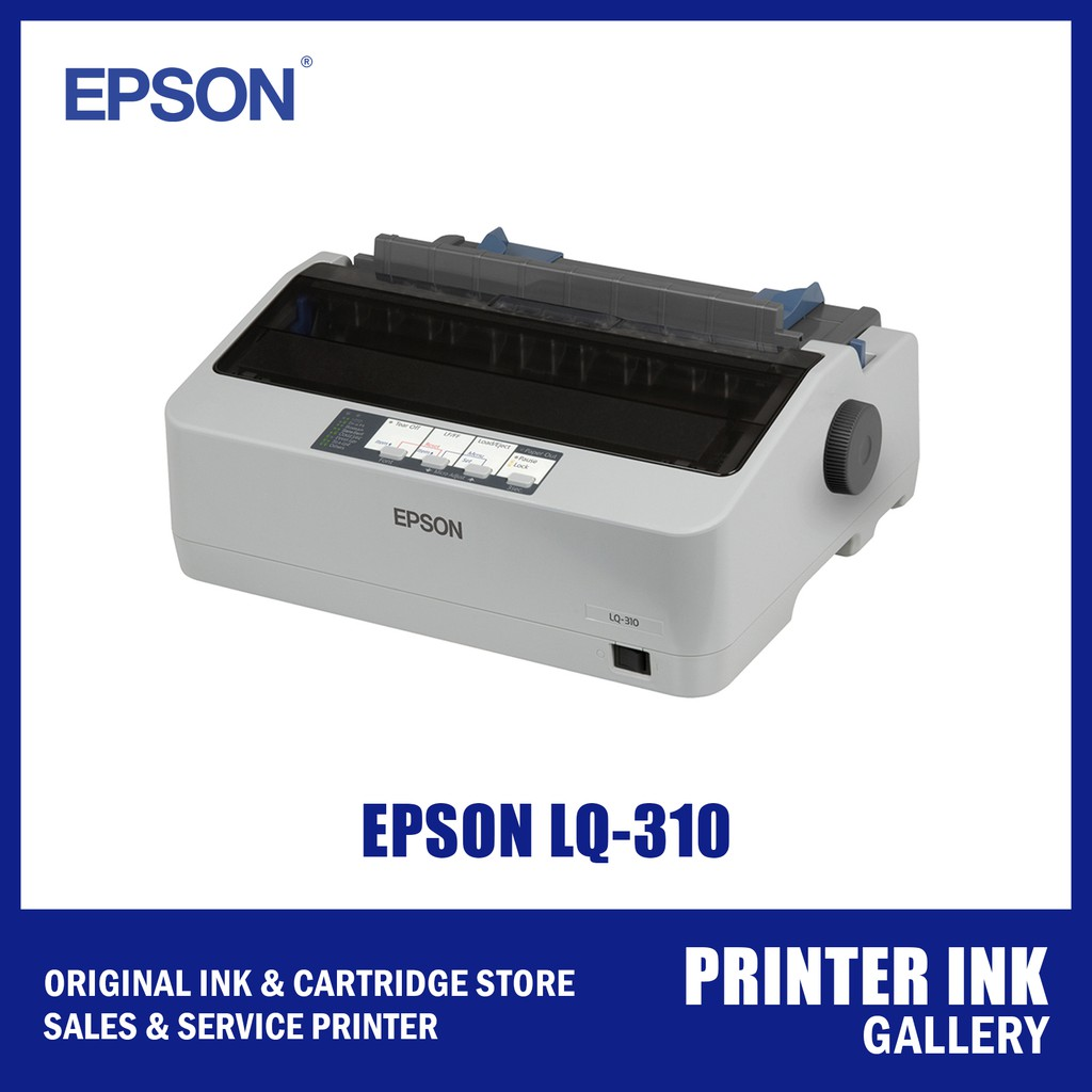 Epson LQ-310 (INDO) IMPACT PRINTER + Ribbon
