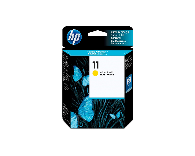 HP 11 Designjet Ink Cartridge - Yellow