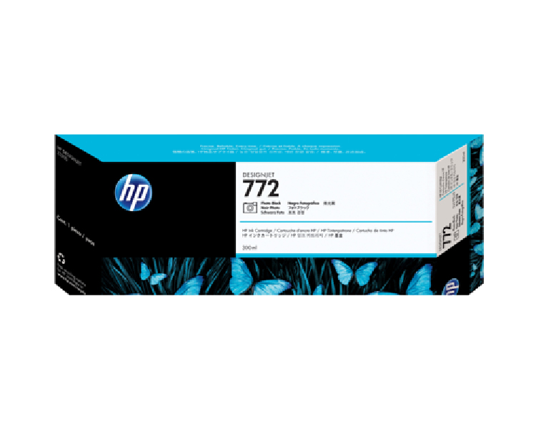 HP 772 Designjet Ink Cartridge - 300 ml Photo Black