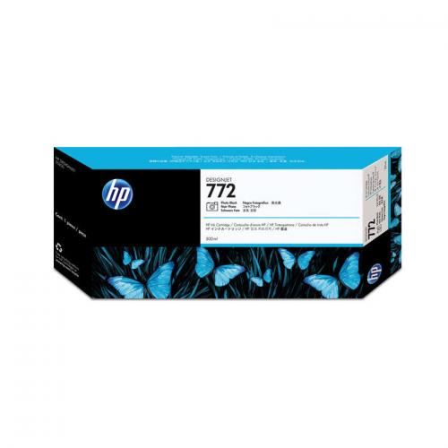 HP 772 Designjet Ink Cartridge - 300 ml Photo Black