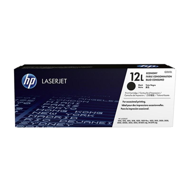 HP 12L Blk LJ Toner Cartridge