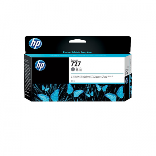 HP 727 Designjet Ink Cartridge - 300 ml Gray