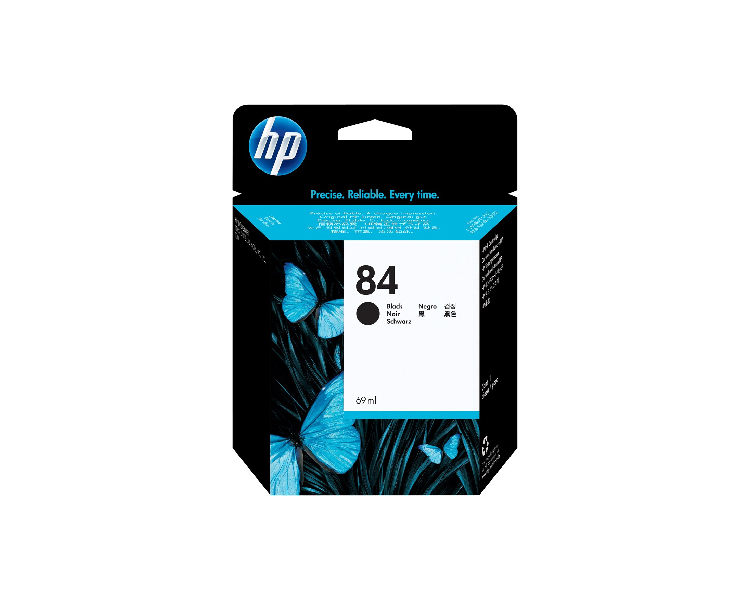HP 84 Designjet Ink Cartridge - 69ml Black