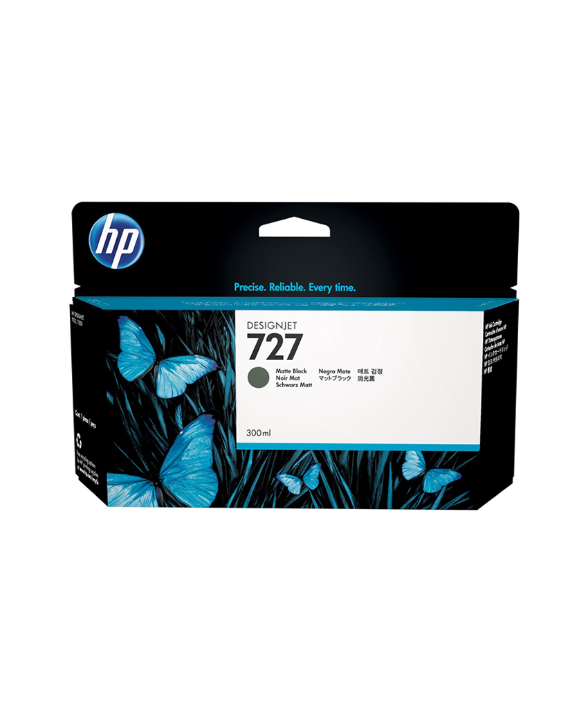 HP 727 Designjet Ink Cartridge - 300 ml Matte Black
