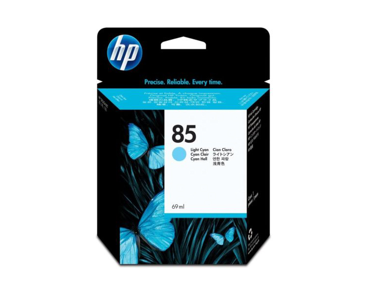HP 85 Designjet Ink Cartridge - 69ml Light Cyan