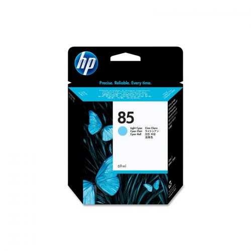 HP 85 Designjet Ink Cartridge - 69ml Light Cyan