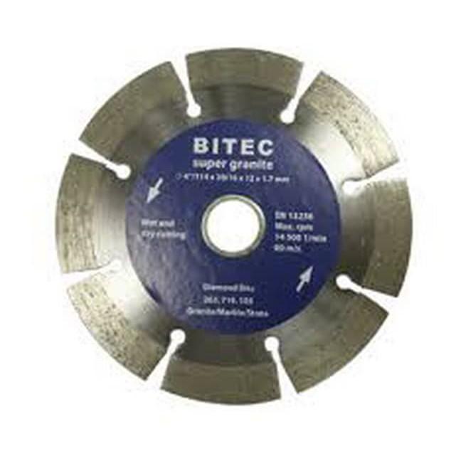 """Bitec Dry - Super Granite 114mm Mata Potong Keramik / Batu 4"""""""
