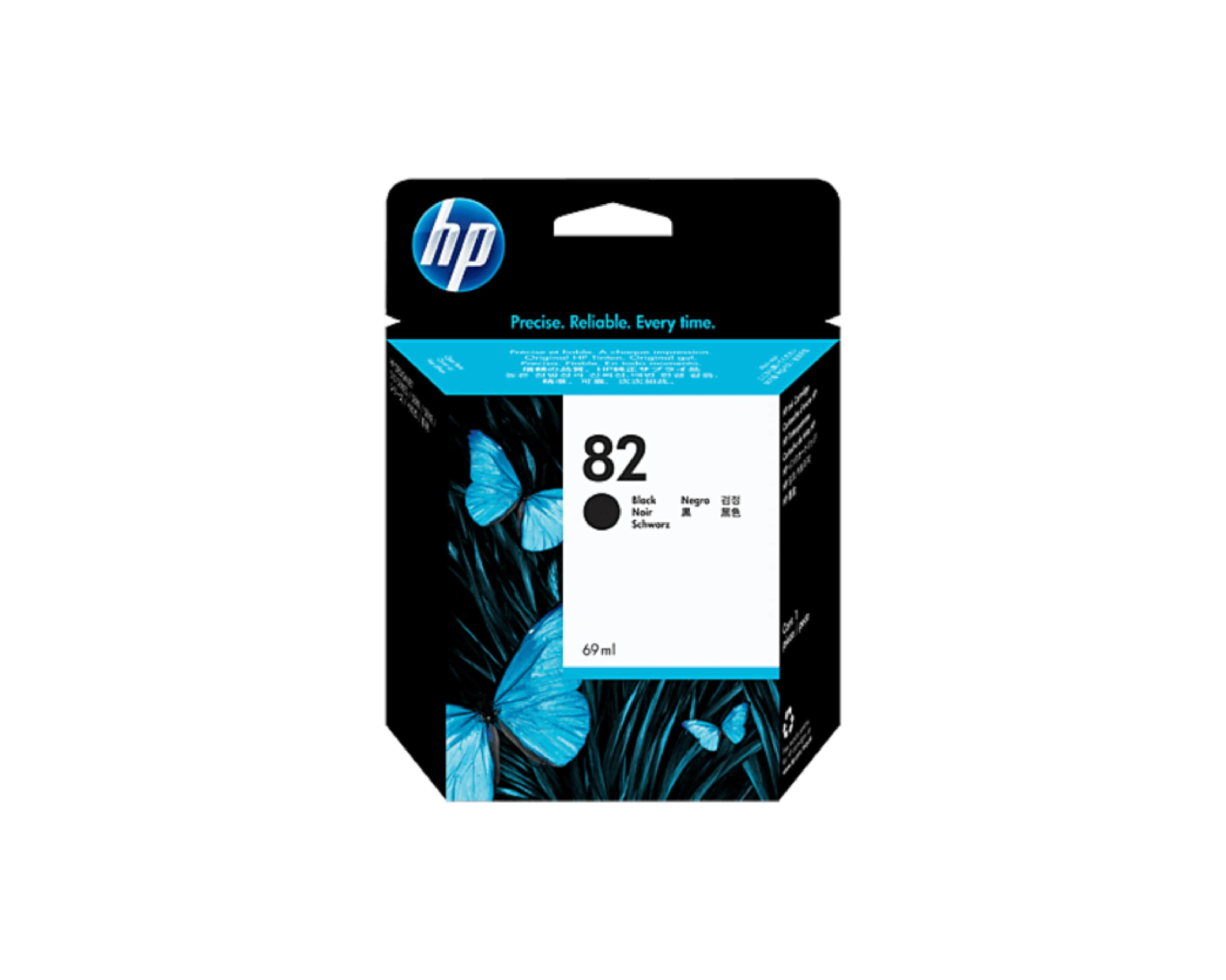 HP 82 DesignJet Ink Cartridge Black 69 ml