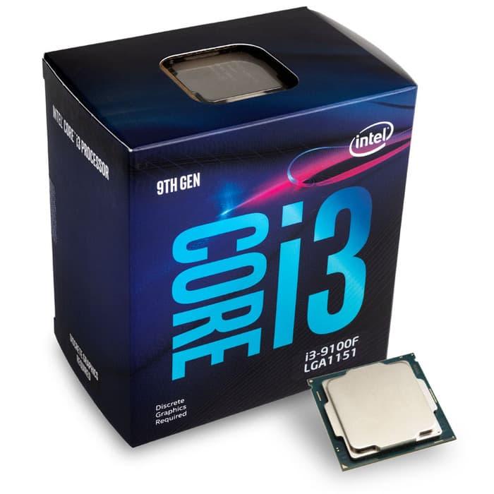 Prosesor Intel Core i3 9100F