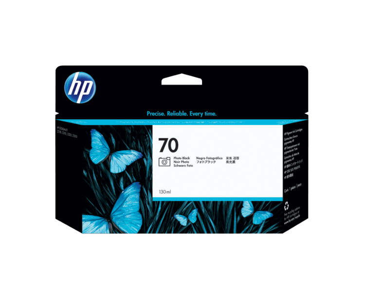 HP 70 Photo Black 130 ml Ink Cartridge