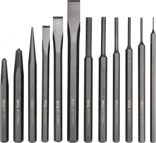 Yato Chisel and punch set YT-4714