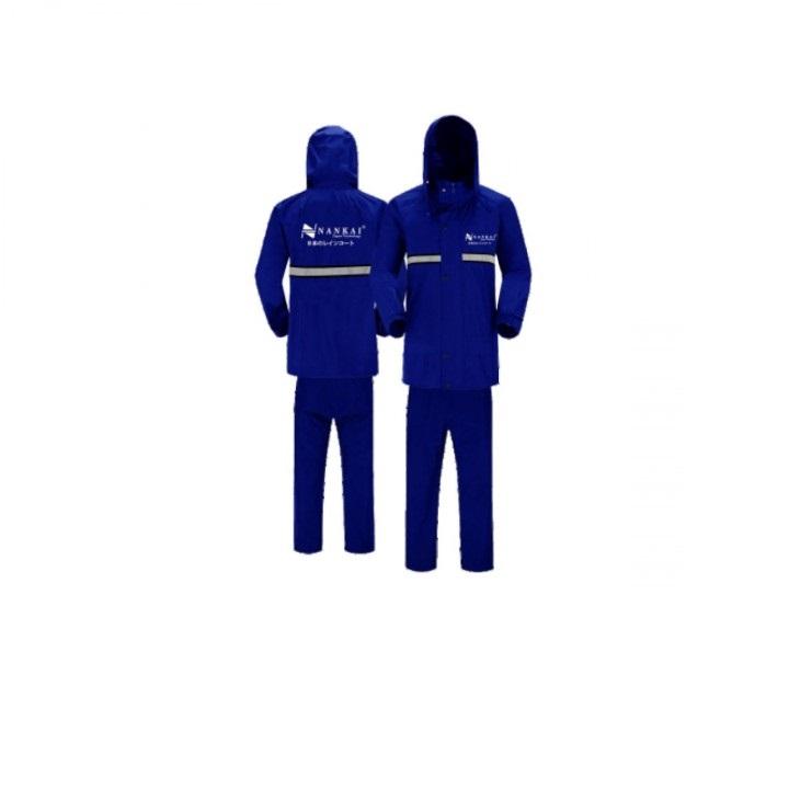 Nankai 279-03 Jas Hujan Baju + Celana - Dark Blue M